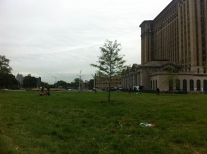 Area 2 was to the right of Michigan Central Station